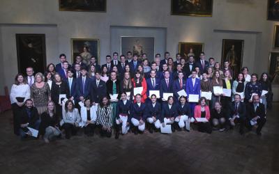 Francisco Javier Sarabia premiado en Eustory y premio extraordinario de ESO
